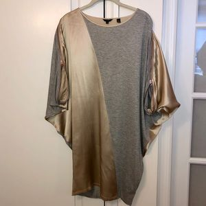 Ted Baker London Silk and Knit Tunic